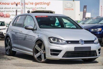2014 Volkswagen Golf AU MY15 R Silver 6 Speed Direct Shift Hatchback Glendalough Stirling Area Preview