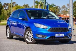 2016 Ford Focus LZ Trend Blue 6 Speed Automatic Hatchback Maddington Gosnells Area Preview