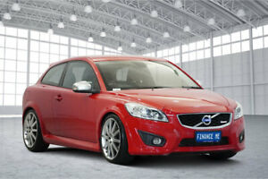 2012 Volvo C30 M Series MY12 T5 R-Design Red 6 Speed Manual Hatchback Victoria Park Victoria Park Area Preview