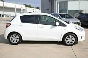 2018 Toyota Yaris NCP131R SX Glacier White 4 Speed Automatic Hatchback Castle Hill The Hills District Preview