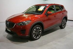 2015 Mazda CX-5 KE1022 Akera SKYACTIV-Drive AWD Red 6 Speed Sports Automatic Wagon Old Guildford Fairfield Area Preview