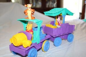 Winnie The Pooh Wagon Full Of Friends Playset