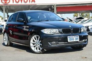 2009 BMW 120d E87 MY09 Black 6 Speed Automatic Hatchback Osborne Park Stirling Area Preview