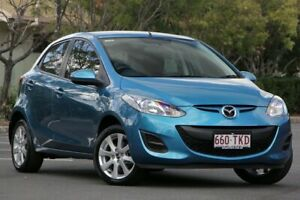 2013 Mazda 2 DE10Y2 MY13 Neo Blue 4 Speed Automatic Hatchback Chermside Brisbane North East Preview