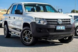 2013 Volkswagen Amarok 2H MY14 TDI420 4Motion Perm White 8 Speed Automatic Utility Osborne Park Stirling Area Preview