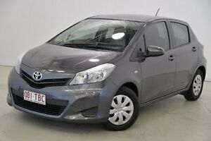 2012 Toyota Yaris NCP130R YR Grey 4 Speed Automatic Hatchback Mansfield Brisbane South East Preview