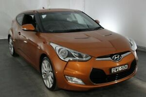 2012 Hyundai Veloster FS + Coupe D-CT Orange 6 Speed Sports Automatic Dual Clutch Hatchback Maryville Newcastle Area Preview