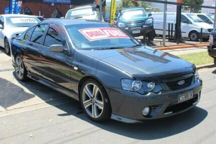 2007 Ford Falcon BF MkII XR6 Grey 4 Speed Auto Seq Sportshift Sedan West Footscray Maribyrnong Area Preview