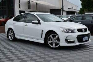 2016 Holden Commodore VF II MY16 SV6 White 6 Speed Sports Automatic Sedan Attadale Melville Area Preview
