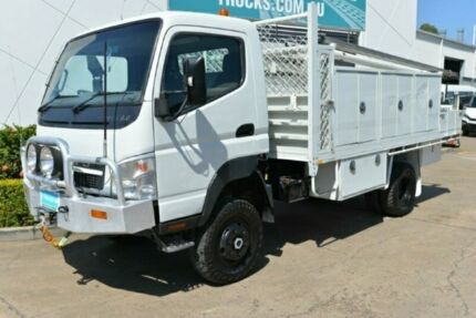 2009 MITSUBISHI FUSO CANTER Service Vehicle 4x4 Tray Top SN#5511 Acacia Ridge Brisbane South West Preview