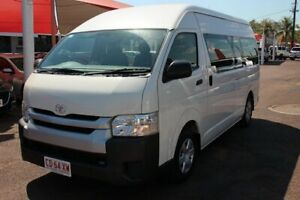 2014 Toyota HiAce KDH223R MY14 Commuter High Roof Super LWB French Vanilla 4 Speed Automatic The Gardens Darwin City Preview