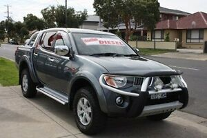 2006 Mitsubishi Triton ML MY07 GLX-R Double Cab Grey 5 Speed Manual Utility Altona North Hobsons Bay Area Preview