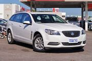 2015 Holden Commodore VF II Evoke Heron White 6 Speed Automatic Sportswagon Osborne Park Stirling Area Preview