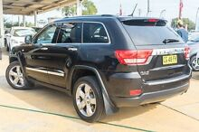 2012 Jeep Grand Cherokee WK MY2012 Limited Black 5 Speed Sports Automatic Wagon Greenacre Bankstown Area Preview