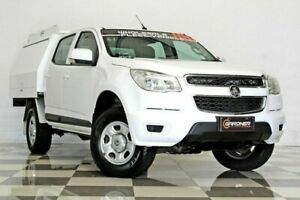 2015 Holden Colorado RG MY16 LS (4x2) White 6 Speed Automatic Crew Cab Chassis Burleigh Heads Gold Coast South Preview