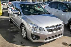 2013 Subaru Impreza G4 MY13 2.0i-L Lineartronic AWD Silver 6 Speed Constant Variable Hatchback Aspley Brisbane North East Preview