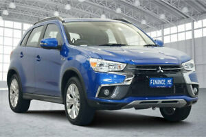 2019 Mitsubishi ASX XC MY19 ES 2WD ADAS Blue 6 Speed Constant Variable Wagon