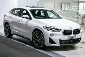 2018 BMW X2 F39 sDrive18i Coupe DCT M Sport X White 7 Speed Sports Automatic Dual Clutch Wagon South Melbourne Port Phillip Preview