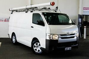 2017 Toyota HiAce KDH201R LWB French Vanilla 4 Speed Automatic Van Myaree Melville Area Preview