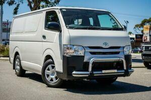 2018 Toyota HiAce KDH201R LWB White 5 Speed Manual Van Midvale Mundaring Area Preview