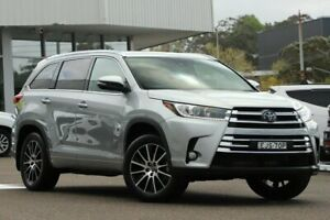 2018 Toyota Kluger GSU55R MY18 Grande (4x4) Silver Storm 8 Speed Automatic Wagon Wyong Wyong Area Preview