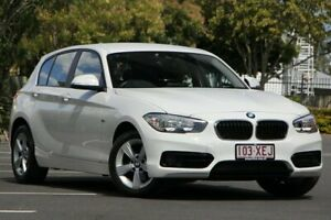 2017 BMW 1 Series F20 LCI-2 118i Steptronic Sport Line White 8 Speed Sports Automatic Hatchback Chermside Brisbane North East Preview