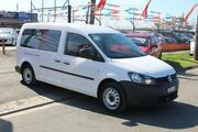 2014 Volkswagen Caddy 2K MY13 Maxi TDI250 Bluemotion White 5 Speed Manual Van Brooklyn Brimbank Area Preview