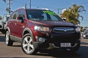 2013 Holden Captiva CG MY13 7 AWD LX Maroon 6 Speed Sports Automatic Wagon Gympie Gympie Area Preview