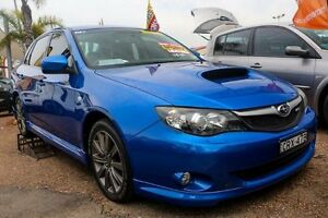 2009 Subaru Impreza WRX Blue Manual Sedan Minchinbury Blacktown Area Preview