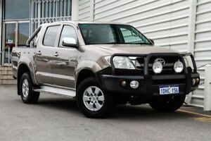 2009 Toyota Hilux GGN25R MY10 SR5 Beige 5 Speed Automatic Utility Osborne Park Stirling Area Preview