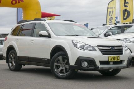 2014 Subaru Outback B5A MY14 2.0D Lineartronic AWD White 7 Speed Constant Variable Wagon Pearce Woden Valley Preview