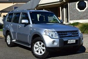 2008 Mitsubishi Pajero NT MY09 GLS Silver 5 Speed Sports Automatic Wagon St Marys Mitcham Area Preview