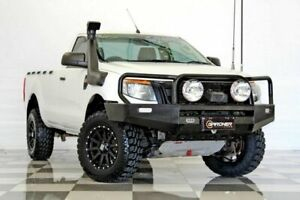 2014 Ford Ranger PX XL 3.2 (4x4) White 6 Speed Automatic Cab Chassis Burleigh Heads Gold Coast South Preview