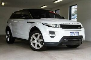 2013 Land Rover Range Rover Evoque L538 MY13 TD4 CommandShift Dynamic White 6 Speed Sports Automatic