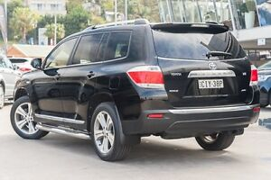 2012 Toyota Kluger GSU45R MY12 KX-S AWD Black 5 Speed Sports Automatic Wagon Brookvale Manly Area Preview