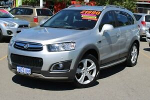 2014 Holden Captiva CG MY14 7 AWD LTZ Silver 6 Speed Sports Automatic Wagon Midland Swan Area Preview