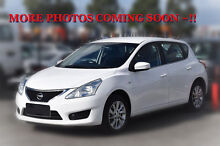 2014 Nissan Pulsar C12 ST White 1 Speed Constant Variable Hatchback Berwick Casey Area Preview