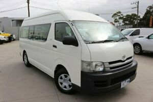2009 Toyota HiAce KDH223R MY08 Commuter High Roof Super LWB White 5 Speed Manual Bus Dandenong Greater Dandenong Preview