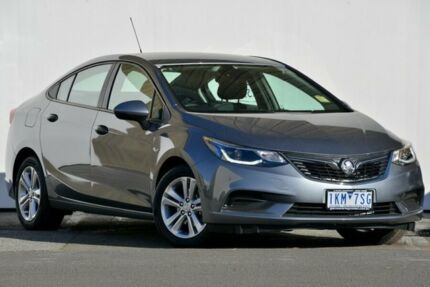 2017 Holden Astra BL MY17 LS+ Satin Steel Grey Automatic Sedan
