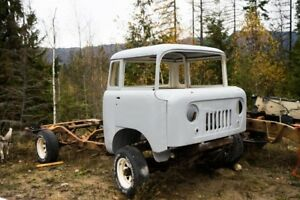 1960 Jeep FC170 Rust Free Cab with Original Frame