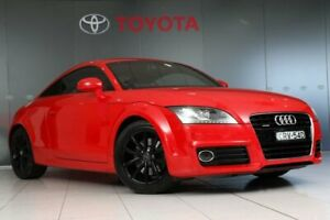 2013 Audi TTS 8J MY13 S Tronic Quattro Red 6 Speed Sports Automatic Dual Clutch Coupe Glebe Inner Sydney Preview
