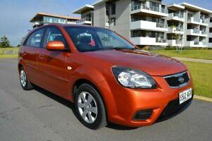 2010 Kia Rio JB MY10 S Orange 5 Speed Manual Hatchback Somerton Park Holdfast Bay Preview