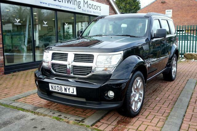 2008 Dodge Nitro 2 8 Crd Sxt Auto Low Miles 20 Alloys