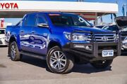 2016 Toyota Hilux GUN126R SR5 Double Cab Nebula Blue 6 Speed Sports Automatic Utility Osborne Park Stirling Area Preview