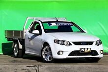 2010 Ford Falcon FG XR6 Super Cab White 6 Speed Sports Automatic Cab Chassis Ringwood East Maroondah Area Preview