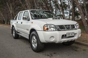 2012 Nissan Navara D22 S5 ST-R White 5 Speed Manual Utility Morphett Vale Morphett Vale Area Preview