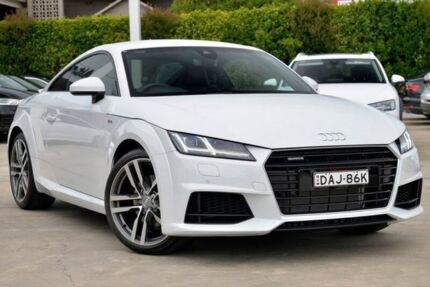 2015 Audi TT FV MY15 S Line S tronic quattro White 6 Speed Sports Automatic Dual Clutch Coupe Gosford Gosford Area Preview