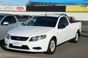 2009 Ford Falcon FG Ute Super Cab White 4 Speed Sports Automatic Utility Cheltenham Kingston Area Preview