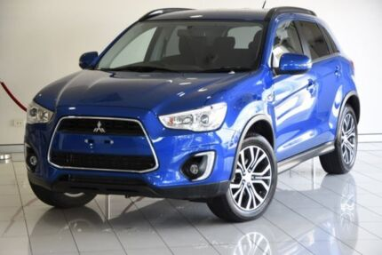 2015 Mitsubishi ASX XB MY15 LS 2WD Blue 6 Speed Constant Variable Wagon Southport Gold Coast City Preview