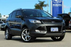 2014 Ford Kuga TF Titanium AWD Grey 6 Speed Sports Automatic Wagon Greenfields Mandurah Area Preview